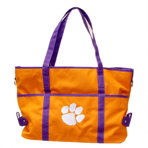 Clemson Tigers Polyester Tote Bag by Sandol