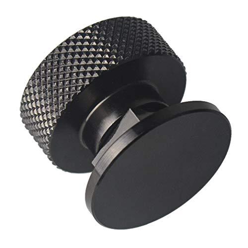 Welding Hood (Pipeliner) Helmet Fasteners Aluminum - 1 Pair (Black Anodized Knurled) by 3mirrors (Image #2)
