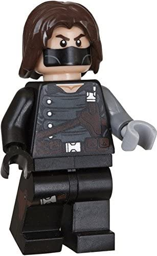 LEGO Winter Soldier Minifigure 5002943 Avengers Marvel Super Heroes New Sealed