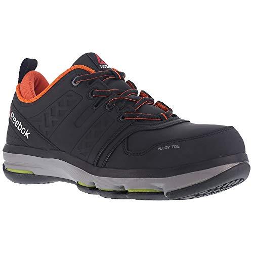 Reebok Work Men's Dmx Flex Work RB3602 Industrial and Construction Shoe, Black, 9 W US