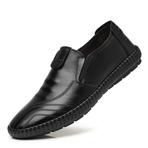 B Comfort Mocassini 47 Uomo Autunno On Scarpe Primavera Driving Fashion Driving Slip 37 da Flat Mocassini Scarpe Shoes Daily amp; Shoes Casual Pelle Passeggio Casual YAN p46Zqn