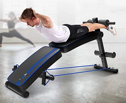 GaoMiTA Supine Board Double Folding Safety and Comfort Home Multi-Function Board Men and Women Reduce Abdominal Abdomen Fitness Equipment by GaoMiTA (Image #9)