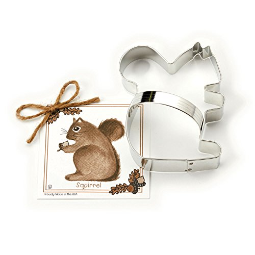 Squirrel Cookie and Fondant Cutter - Ann Clark
