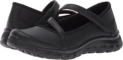 Girl's Skechers, Skech Flex 2.0 School Spiritz Shoes BLACK 3 (Shoes For Back To School)