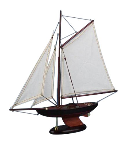 Hampton Nautical  Newport Sloop Sailboat, 17