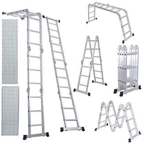 Light Aluminium Step Ladder in US - 7