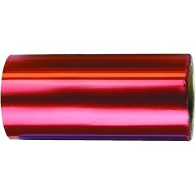 Fripac-Medis Papel de aluminio, 12 cm x 50 m, color rojo