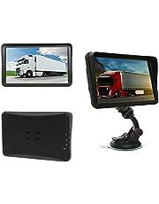 9 inch navigatieapparaat navigatiesysteem Drive-Tech voor vrachtwagens, personenauto's, campers. 50 landen van Europa, tekst-to-speech, levenslange kaartupdates. Geavanceerde rijstrookassistent. capacitief touchscreen.,