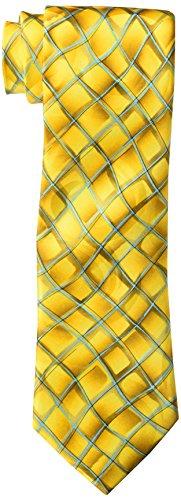 J. Garcia Men's Bag Lady Tie, yellow, One Size