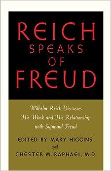 Book REICH SPEAKS OF FREUD