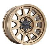 "Method Race Wheels 703 Method Bronze 17x8.5 6x120, 0mm Offset 4.75"" Backspace, MR70378562900"