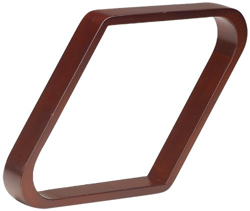 Wooden 9 Ball Diamond (Pro Series TR9-C Doweled Wooden Billiard Ball 9-Ball Diamond Rack, Cherry)
