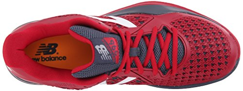 Zapatillas De Tenis Ligeras New Balance Para Hombre 996v2 Rojo / Gris