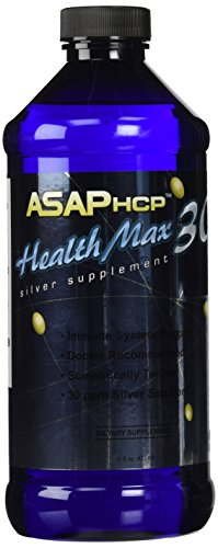 American Biotech Labs Health Max 30 ASAPHCP Silver Dietary Supplement, 16 Ounce