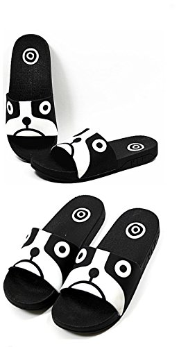 Elais J Womens Cute Amimal Rubberen Zool Slide Sandalen Slippers Dog