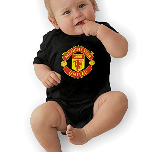 Barcelona/Juventus/Manchester United FC Short Sleeves Bodysuit Romper Onesie Jumpsuit Baby Clothes Unisex Girls Boys