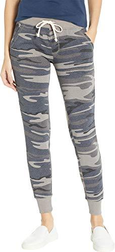 Alternative Women's Eco Fleece Jogger Pant Slate Camo Large