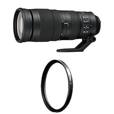 Nikon AF-S FX NIKKOR 200-500mm f/5.6E ED Vibration Reduction Zoom Lens with Auto Focus for Nikon DSLR Cameras