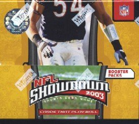 NFL Showdown 2003 Sealed Booster Box