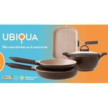 Amazon Com Italy S Tognana Ubiqua 5 Pcs 4 Pots And Pans