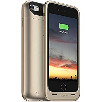 mophie juice pack air - Slim Protective Mobile Battery Pack Case for iPhone 6/6s - Gold