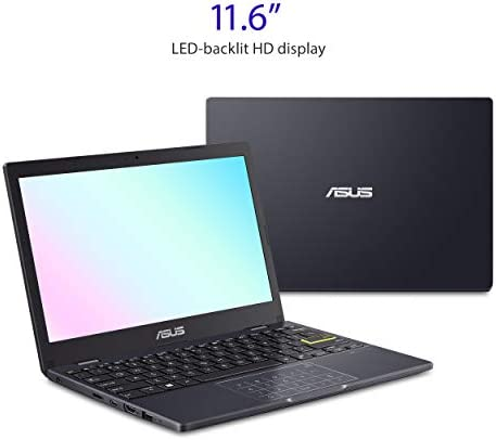 """ASUS Laptop L210 Ultra Thin Laptop, 11.6"""" HD Display, Intel Celeron N4020 Processor, 4GB RAM, 64GB Storage, NumberPad, Windows 10 Home in S Mode with One Year of Microsoft 365 Personal, L210MA-DB01 WeeklyReviewer"""