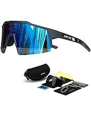 KAPVOE Gafas de ciclismo polarizadas para mujeres y hombres MTB bicicleta de montaña motocicleta