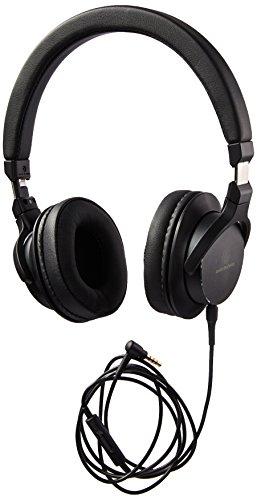 Audio-Technica ATH-SR5BK On-Ear High-Resolution Audio Headphones, Black
