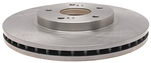 ACDelco 18A1095A Advantage Non-Coated Front Disc Brake (Acura Brake Disc)