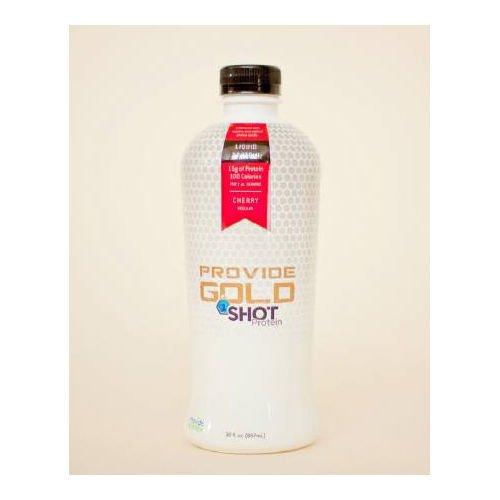 Provide Gold Regular 1 Shot Protein 30oz Bottle, Cherry Flavor