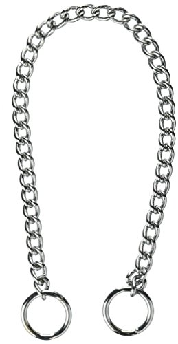 (Coastal Pet Products DCP553018 18-Inch Titan Heavy Chain Dog Training Choke/Collar with 3mm Link, Chrome )