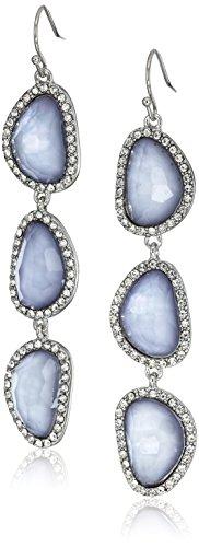 t-tahari-triple-faceted-stone-fish-hook-silver-drop-earrings