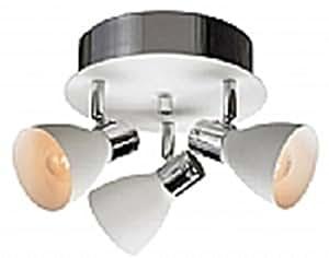 Markslojd 103068 - Focos de exterior (cromo), color blanco