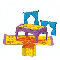 Fisher-Price Dora the Explorer-Dora Magical Welcome House-Playroom