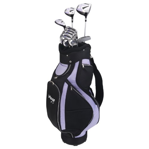 Voit V7 Ladies All Graphite Golf Club Set and Staff Bag, Outdoor Stuffs