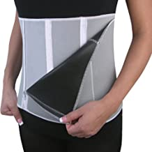 UZZO 2014 New Style Soft Neoprene Unisex Women&Men 5 Zipper Adjustable Slimming Belt Girdle Waist Wrap Shaper Burn Fat Cellulite Belly Back Support Lose Weight Equipment