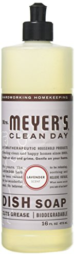 Mrs. Meyer's - Clean Day Liquid Dish Soap Lavender - 16 oz.3 Pack