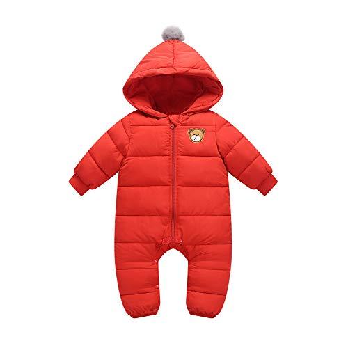 Baby skipak, overalls met capuchon, winter rompertjes, katoenen jumpsuit, outfits 9 – 24 maanden