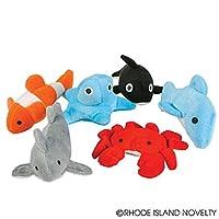 Plush Sea Life Toys