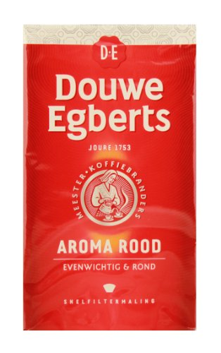 Price comparison product image Douwe Egberts Aroma Rood Ground Coffee, 8.8-Ounce Package