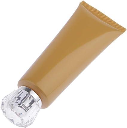 100ml Botella Manguera a Prueba de Fugas Envase de Crema Estuche de Suero Tarros con Tapa - C: Amazon.es: Belleza