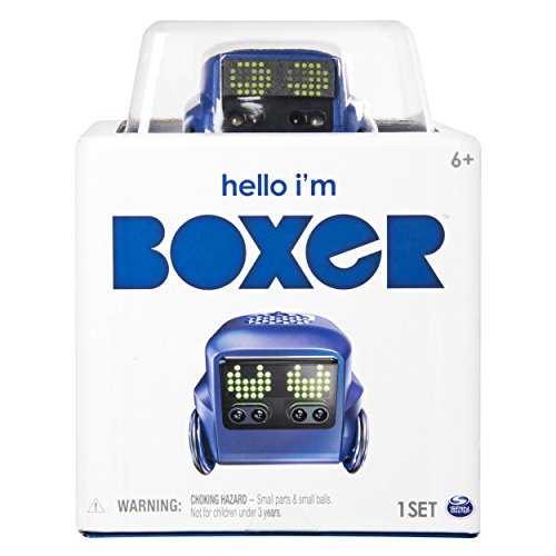 41wX0zOtz1L - Boxer - Interactive A.I. Robot Toy (Blue) with Personality and Emotions, for Ages 6 and Up