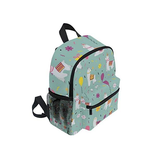 Alpaca Green Toddler Zaino Scuola Multi Carino Bookbags per la Scuola Ragazzi e Ragazze Ragazze Ragazzi Borse Bambini… 2 spesavip