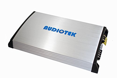 Audiotek At850S 2 Channels Class Ab 2 Ohm Stable 3200W Stereo Power Car Amplifier W/Bass Control by Audiotek (Image #5)