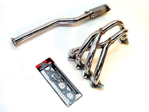 OBX Performance Exhaust Header Compatible with 02-08 Hyundai Tiburon 2.0L 4 Cyl
