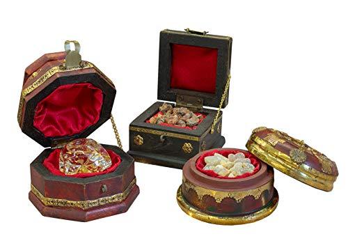 Tres Reyes Magos Regalos el estándar Regalos de Navidad, Oro, incienso y mirra Original Box, juego de 3