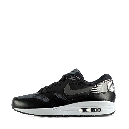 Max s Gris wolf NIKE Running 1 Black Print Grey Men Blanco Grey Multicolour Shoes Black Air Dark CqC5xvTt