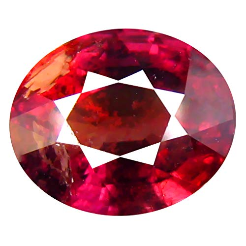 2.98 ct Oval Cut (9 x 7 mm) Unheated/Untreated Reddish Pink Sapphire Natural Genuine Loose Gemstone