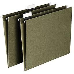 Staples Hanging File Folders, Letter, 5 Tab, 50/Box