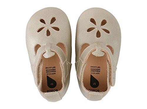Bobux 4373 Baby Krabbelschuhe Girls Sandal Gold Gr.: NB (0-3 Monate)